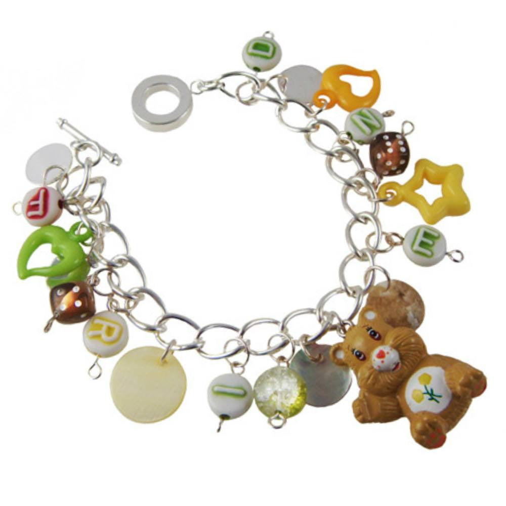 Care Bears Friend Bear Charm Bracelet