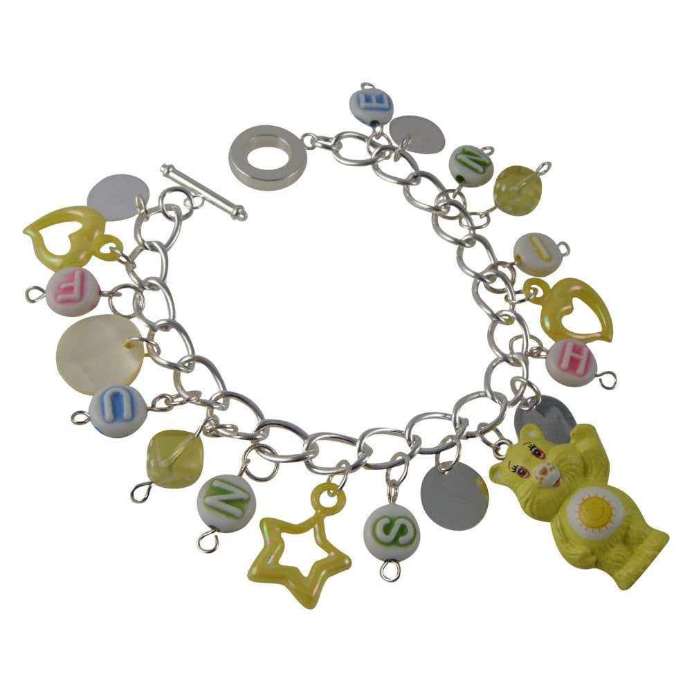 Care Bears Funshine Bear Charm Bracelet Jewellery