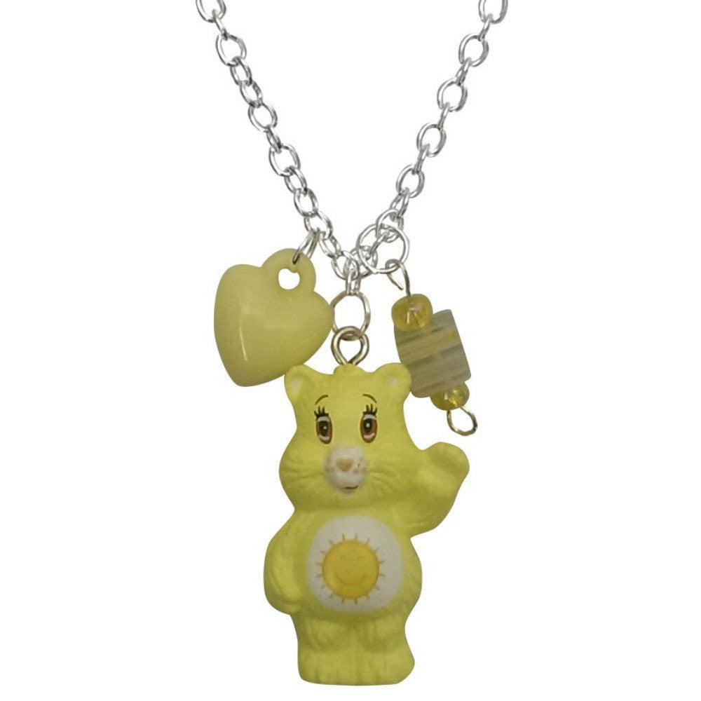 Care Bears Funshine Bear Charm Necklace Pendant (Model)