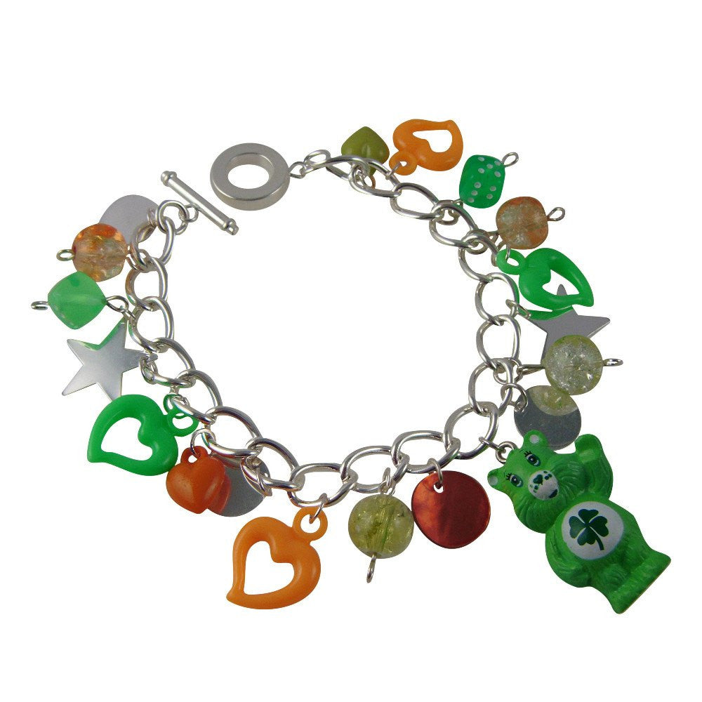 Care Bears Good Luck Bear Charm Bracelet Jewellery