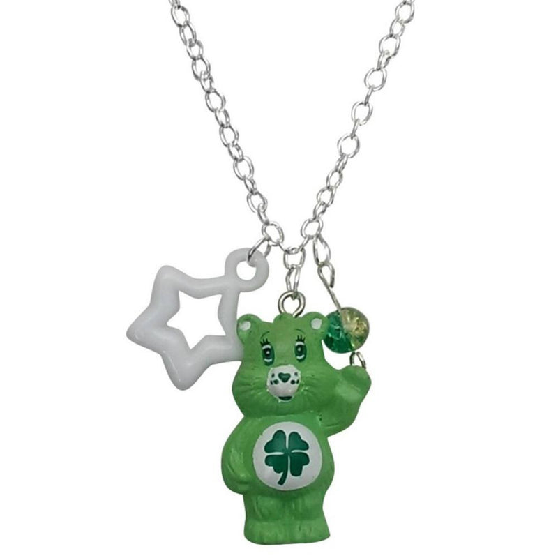 Care Bears Good Luck Bear Charm Necklace Pendant
