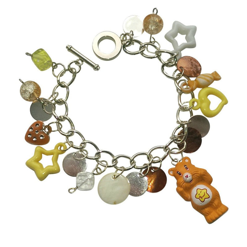 Care Bears Laugh-A-Lot Bear Charm Bracelet Jewellery
