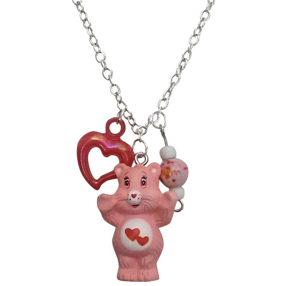 Care Bears Love-A-Lot Bear Necklace Pendant