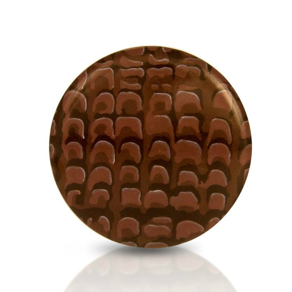 Chocolate Digestive Biscuit Hand Mirror