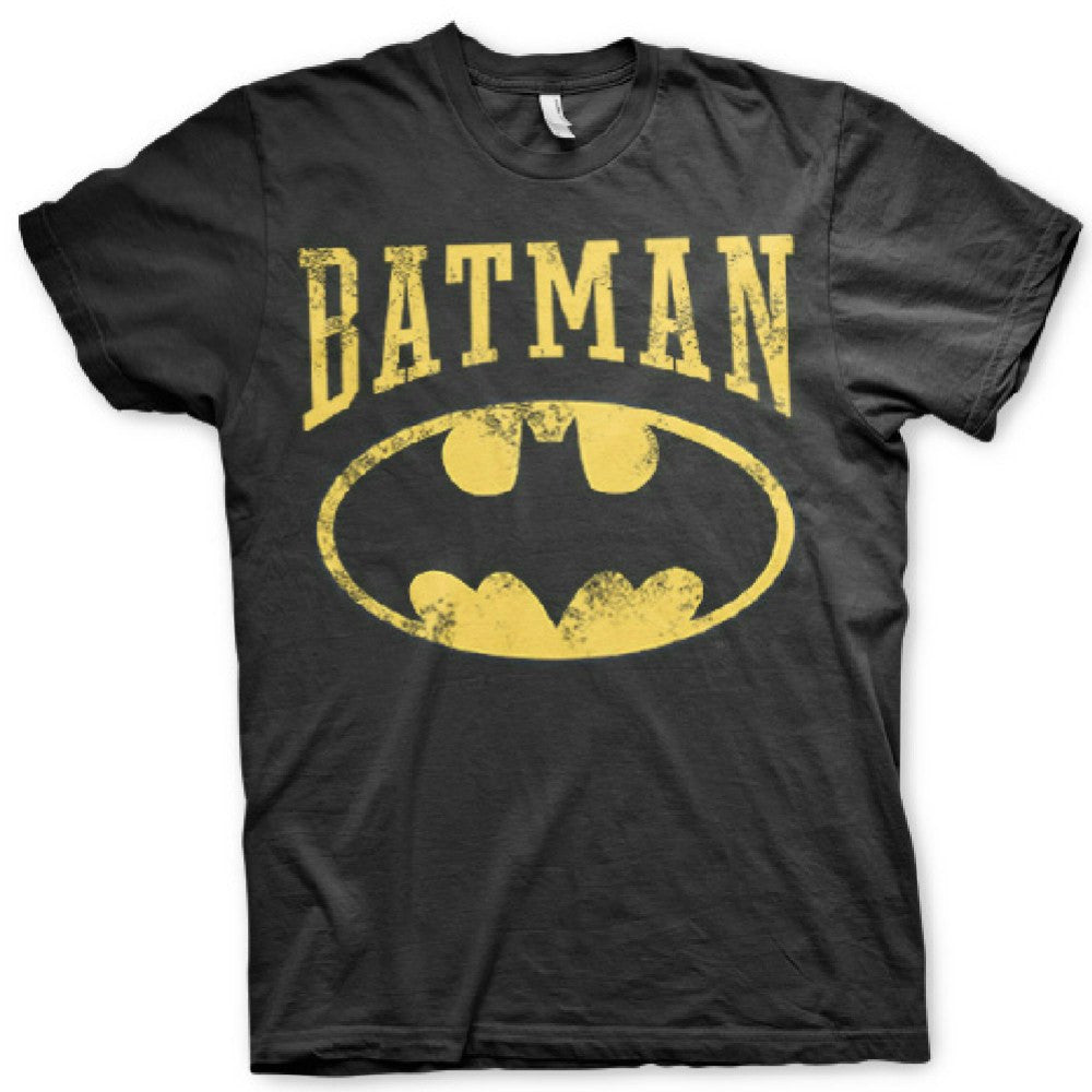 DC Comics Batman Vintage Logo Mens T-Shirt