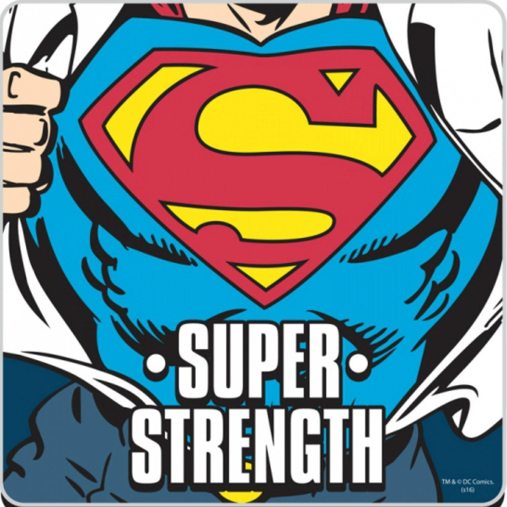 DC Comics Superman Super Strength Single Coaster