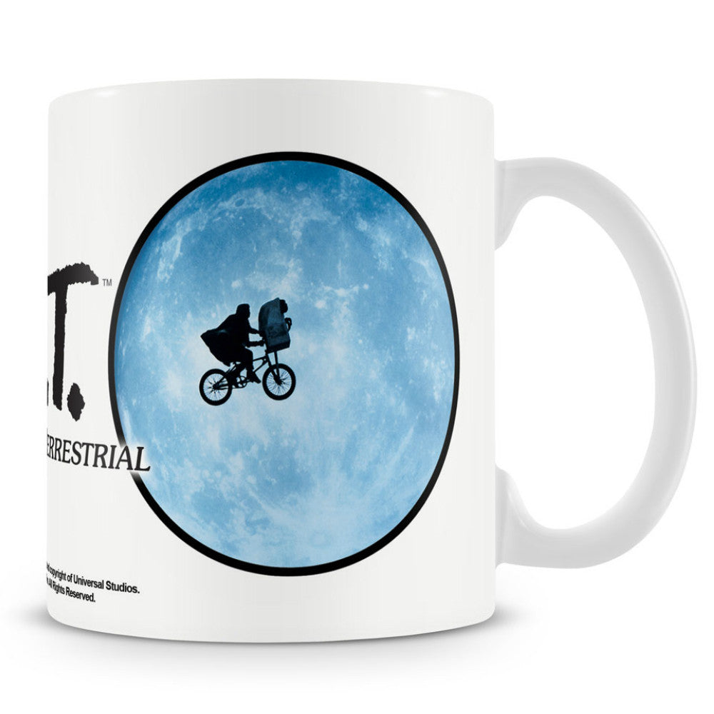 E.T. The Extra Terrestrial Bike in Moon Boxed Mug
