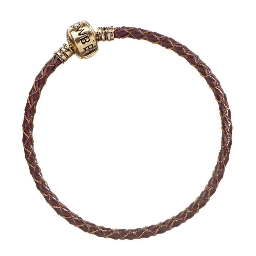 Fantastic Beasts and Where to Find Them Brown Leather Charm Bracelet