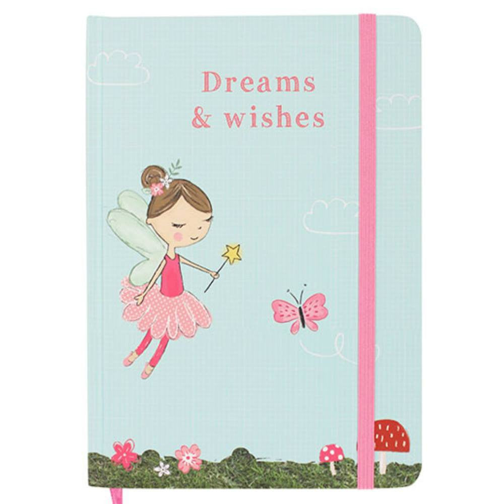 Forest Fairies Fleur Fairy Dreams and Wishes A5 Hardback Notebook