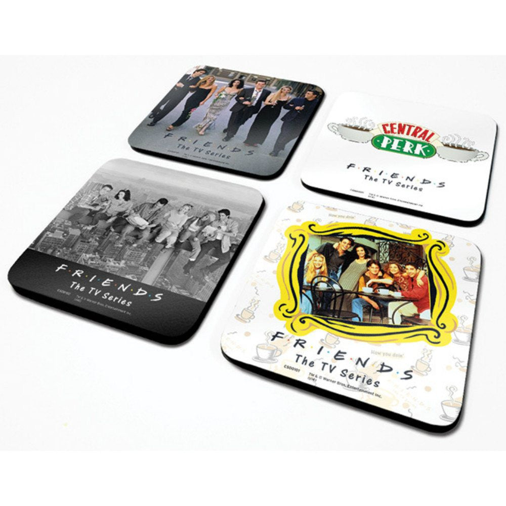 Friends TV Set of Four Coasters Boxed