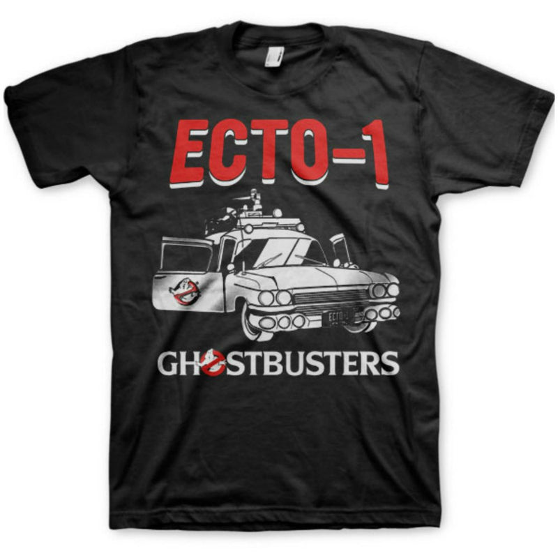 Ghostbusters Ecto 1 Mens T-Shirt
