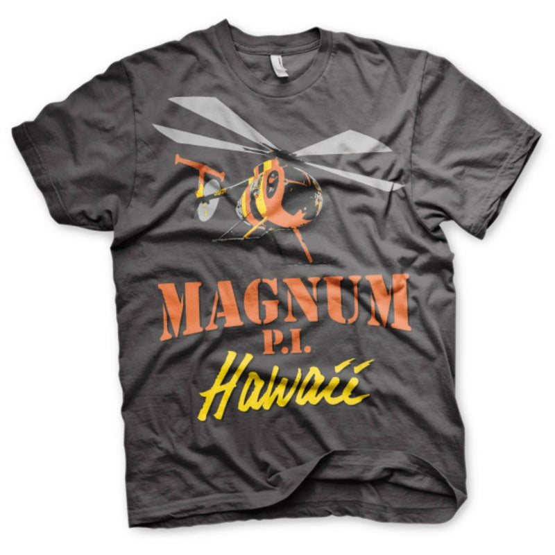 Magnum P.I. Hawaii 80s TV Series Flying Solo Mens T-Shirt
