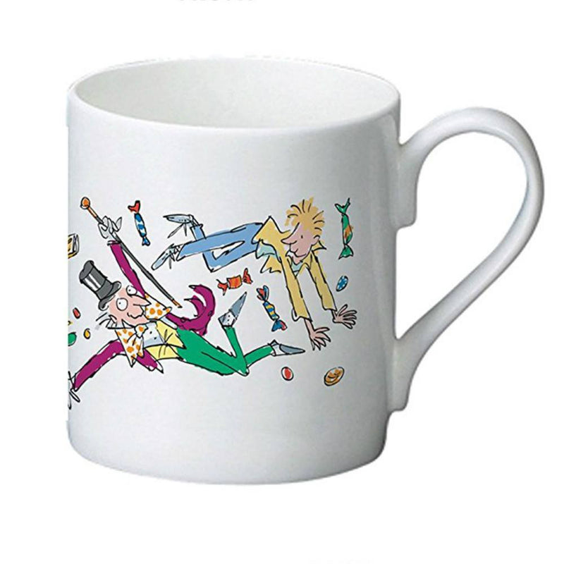 Roald Dahl Charlie and the Chocolate Factory Golden Ticket Bone China Mug