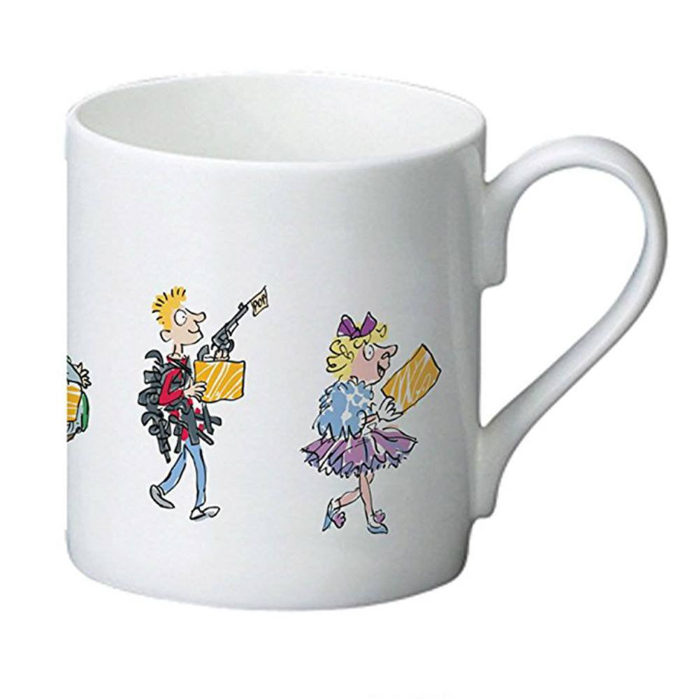 Roald Dahl Charlie and the Chocolate Factory Golden Ticket Winners Bone China Mug