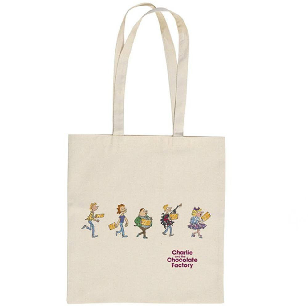 Roald Dahl Charlie and the Chocolate Factory You've Got a Golden Ticket Tote Shopper Bag