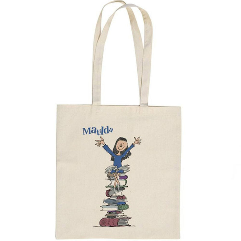 Roald Dahl Matilda What d'You Want a Flaming Book For Tote Shopper Bag