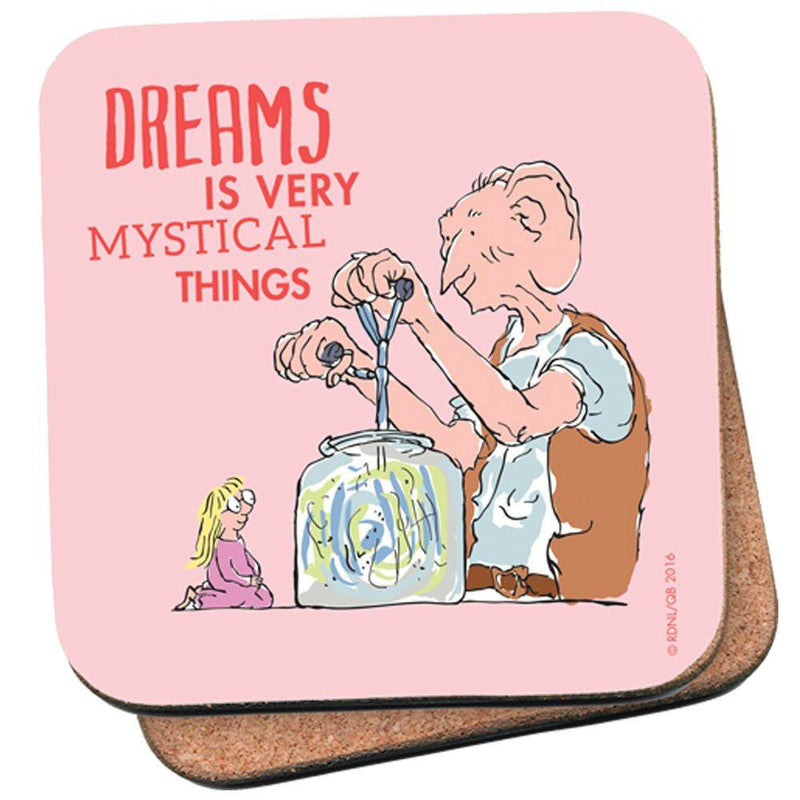 Roald Dahl The BFG Dreams Is Very Mystical Things Single Coaster