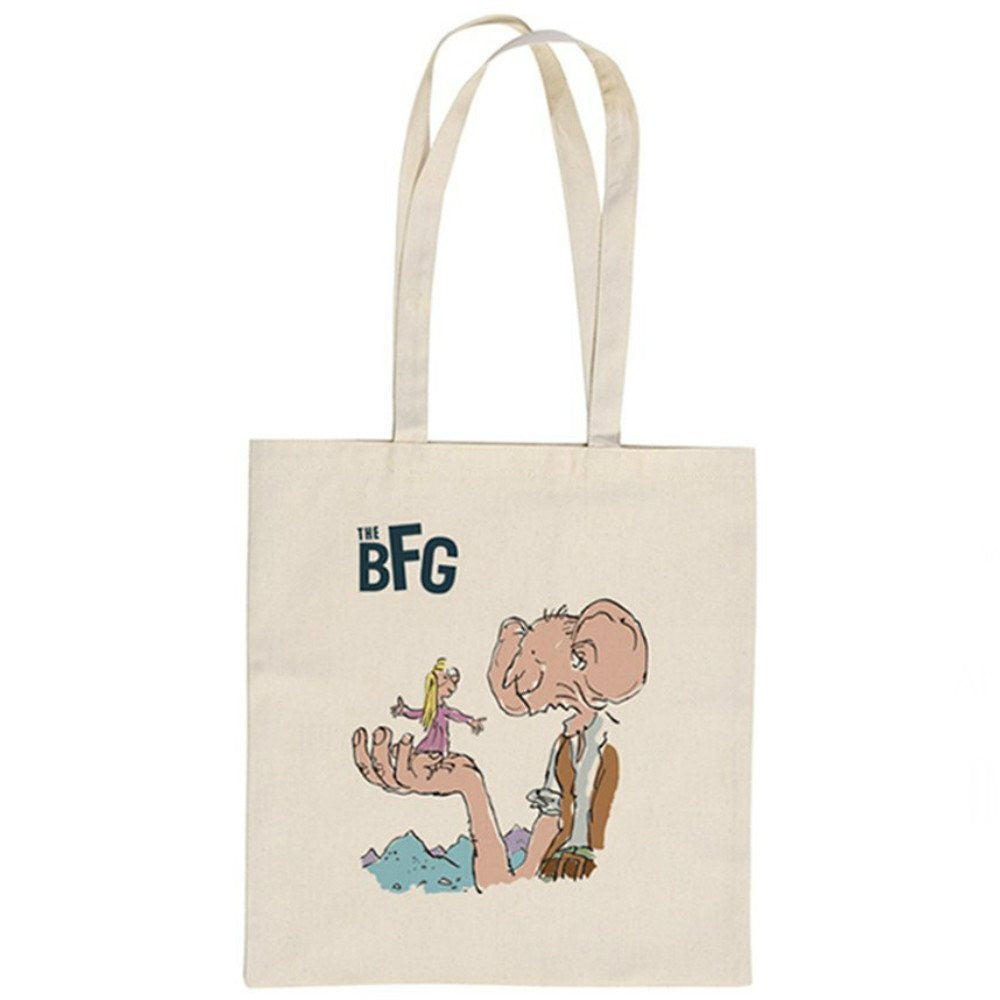 Roald Dahl The BFG What I Say and What I Mean Is Two Different Things Tote Shopper Bag