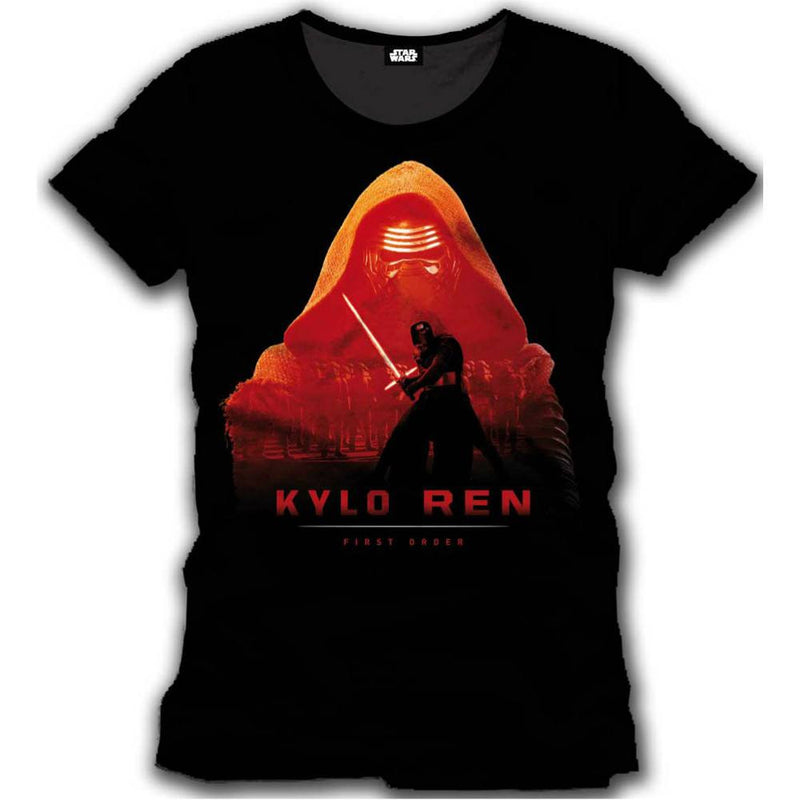 Star Wars Episode VII The Force Awakens Kylo Ren Mens T-Shirt