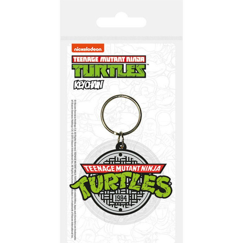 Teenage Mutant Ninja Turtles 1984 Logo Keyring