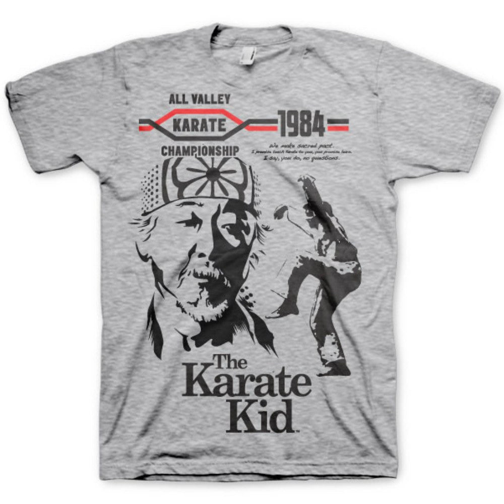The Karate Kid All Valley Karate Championship 1984 Mr Myagi Mens T-Shirt