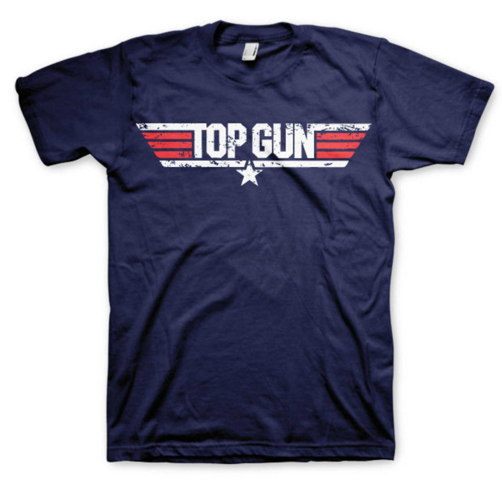 Top Gun Movie Logo Mens T-Shirt