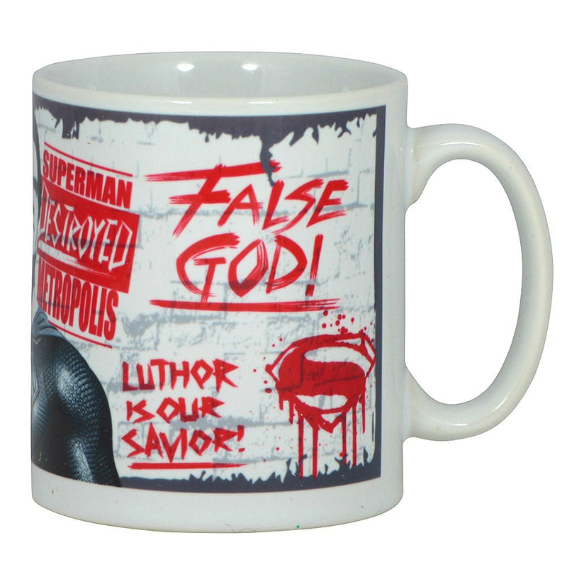 Batman Vs Superman False God Poster Boxed Mug