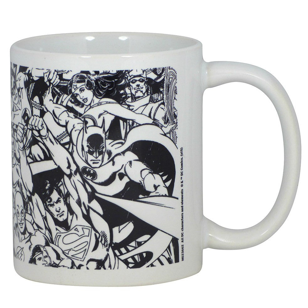 DC Comics Originals Montage Monochrome Boxed Mug