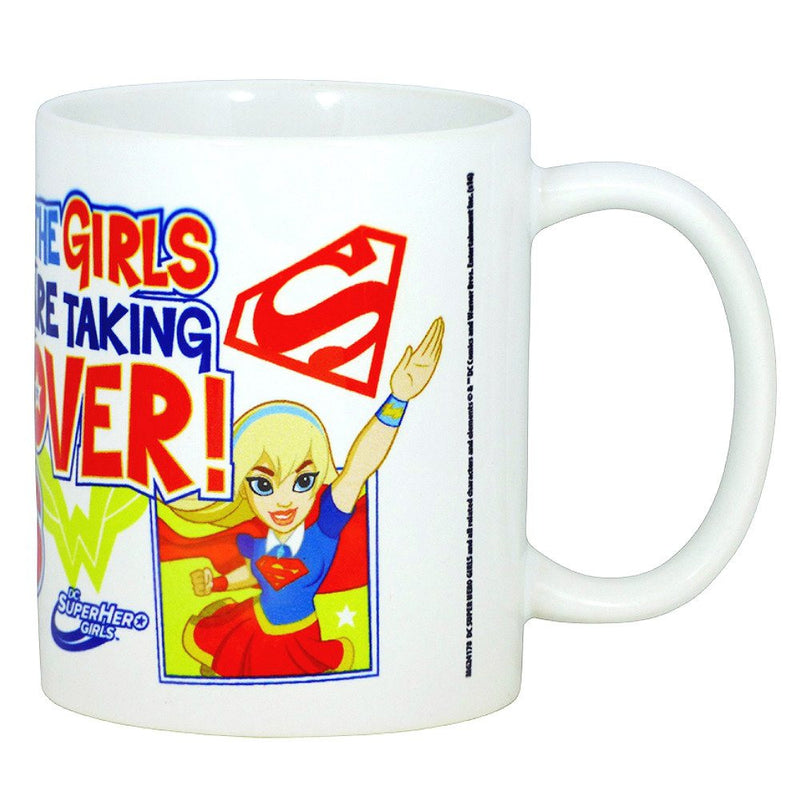DC Superhero Girls Move Over Boys The Girls Are Taking Over Boxed Mug