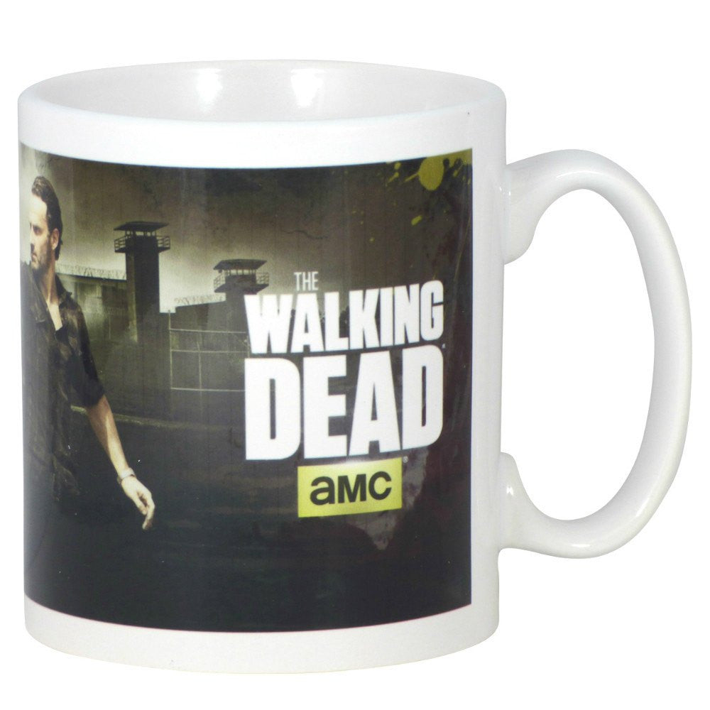 The Walking Dead Rick and Daryl Shoot Boxed Mug