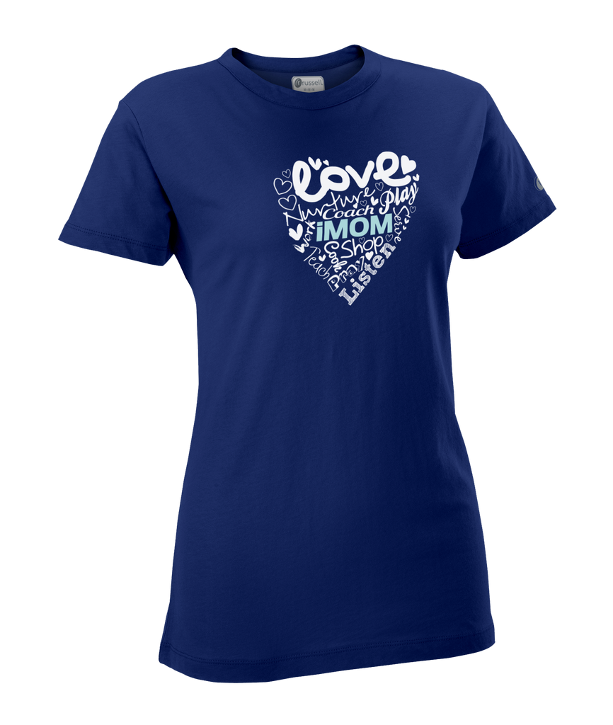Heart Campus T-shirt (Navy)