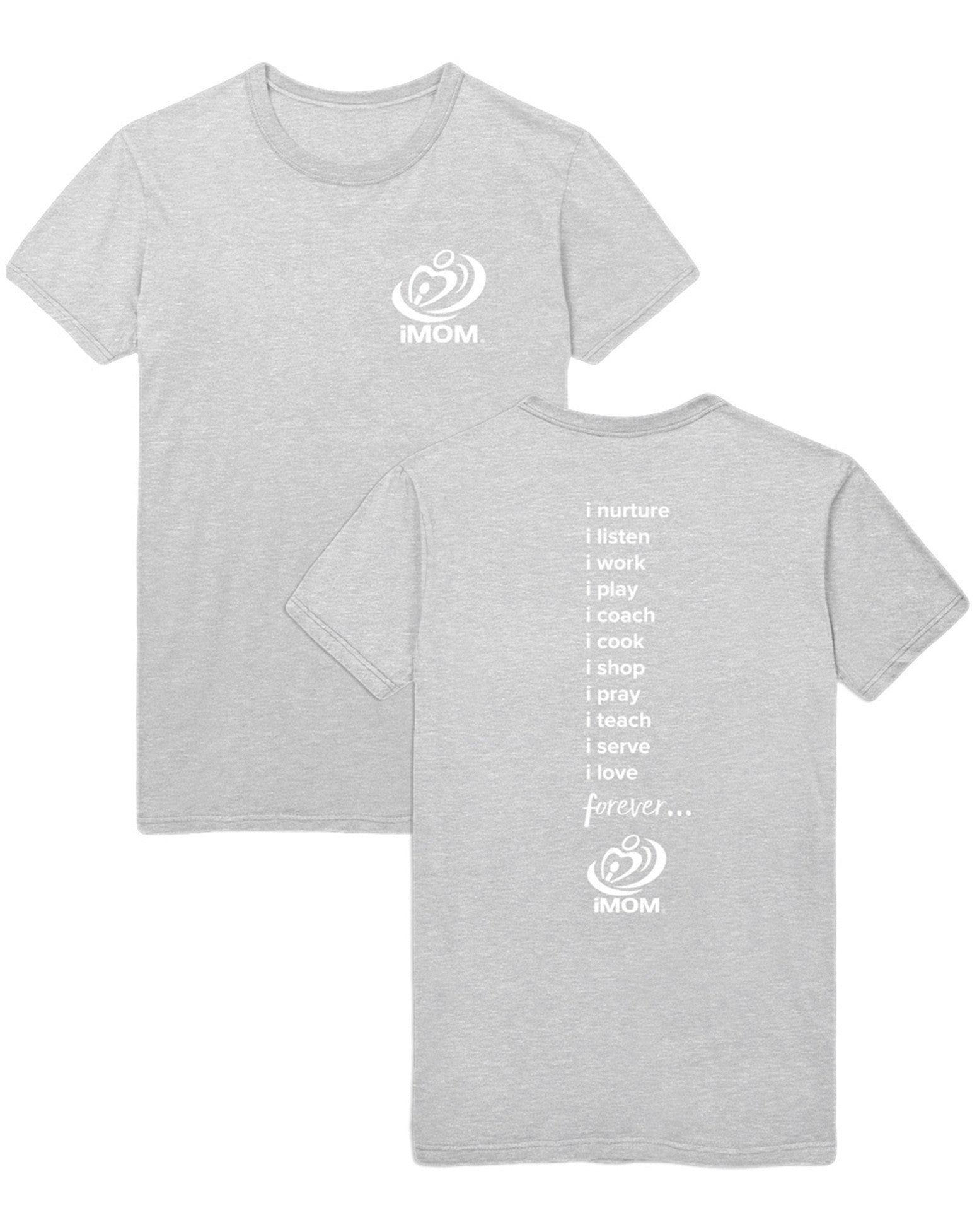 picture relating to Imom called iMOM 10 Methods T-Blouse (Grey)
