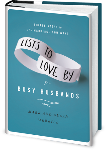 AUTOGRAPHED Lists to Love By for Busy Husbands Book (Hardcover)