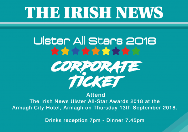Corporate Irish News All-Stars Ticket