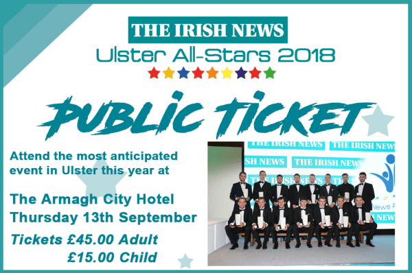 Public Irish News All-Stars Ticket