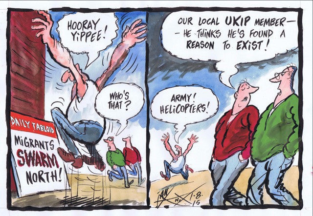Migrants UKIP