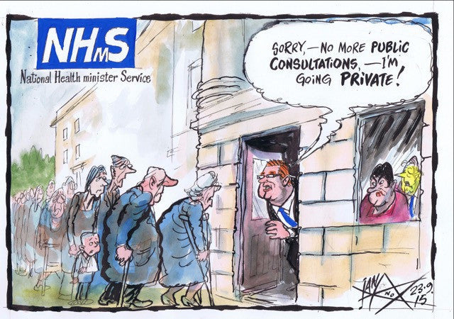 Private Health Minister