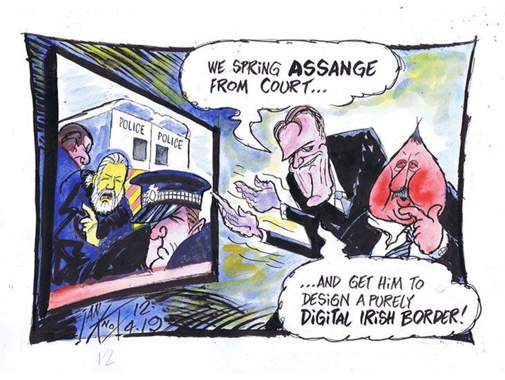 Assange Digital Border