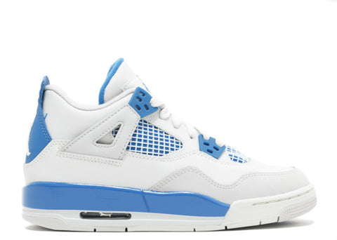 "AIR JORDAN 4 RETRO (GS) ""MILITARY BLUE"""