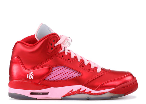 "GIRLS AIR JORDAN 5 RETRO (GS) ""VALENTINES DAY"""