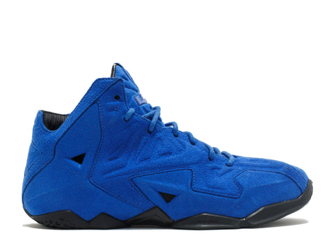 "NIKE LEBRON 11 EXT SUEDE QS ""BLUE SUEDE"""