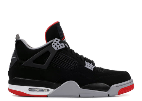 "2019 AIR JORDAN 4 RETRO ""BRED"""