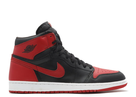 "2001 AIR JORDAN 1 RETRO HIGH OG ""BRED"""