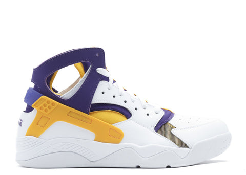 "NIKE AIR FLIGHT HUARACHE ""LAKERS"""