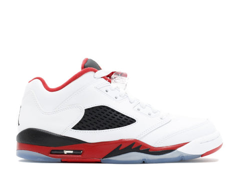 "AIR JORDAN 5 RETRO LOW (GS) ""FIRE RED"""