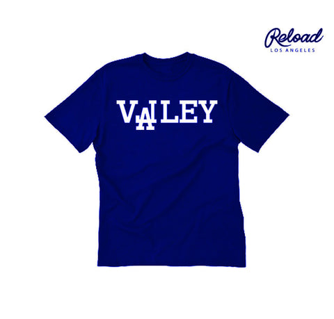"""VALLEY"" CREWNECK TEE - (DODGERS)"