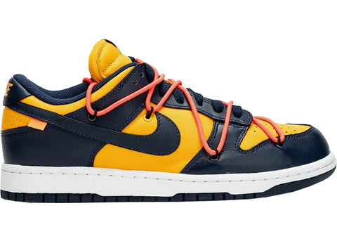 "*PREORDER* NIKE DUNK LOW OFF-WHITE ""MIDNIGHT NAVY"""
