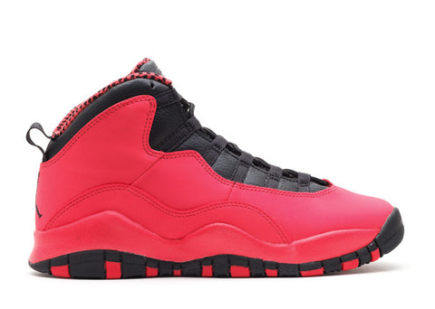 "GIRLS AIR JORDAN 10 RETRO (GS) ""FUSION RED"""