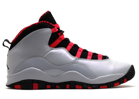 "GIRLS AIR JORDAN 10 RETRO (GS) ""WOLF GREY"""