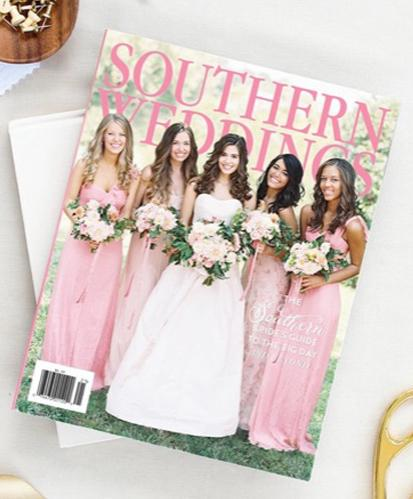 In the Press: Southern Weddings